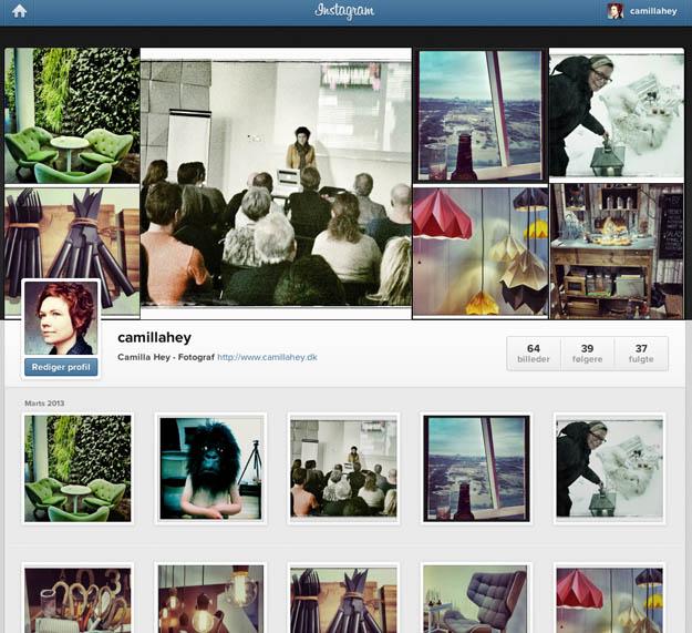 Camilla Hey på Instagram
